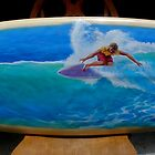 surfboard no 4 by Brian Tisdall