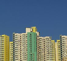 Buildings, Kowloon, Hong Kong by Cara Gallardo Weil