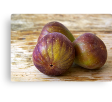 Figs on the table Canvas Print