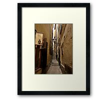 Up, you go Framed Print