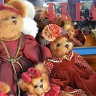 greetings from The Teddies of the Mackin Manor Dreaming by anneisabella