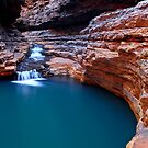 The Sanctuary - Kermits Pool - Hancock Gorge - Karijini NP by Matt  Streatfeild