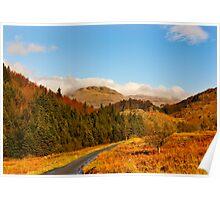 Duddon Valley Autumn Poster