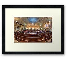 Masonic Memorial Temple • Brisbane • Australia Framed Print