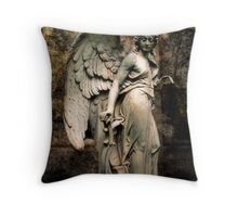 An Angel to watch over you. Throw Pillow