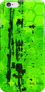 Rusty sci-fi green by lab80