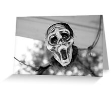Scary Hallow Greeting Card