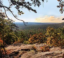 Robber's Cave View by Carolyn  Fletcher