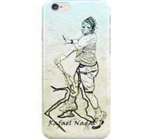 Rafa Nadal (stylized) iPhone Case/Skin