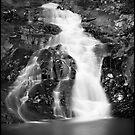 Falls on cedar creek by Kym Howard