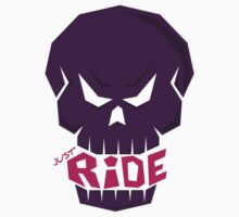 SKULL: JUST RIDE (Female Color) by creativeburn