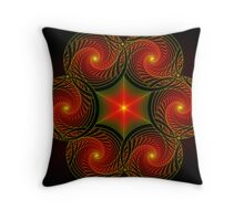Centered and At Peace Throw Pillow