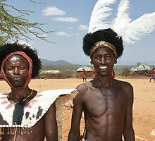 maasai warriors by roger smith