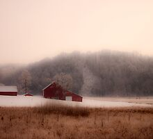 Farm In Winter by Sam Warner