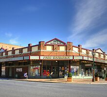 Newsagency ~ Junee NSW by Rosalie Dale