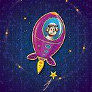 Monkey Mission iPhone case by KenRinkel
