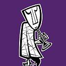 Jazzman horn - iPhone case by KenRinkel