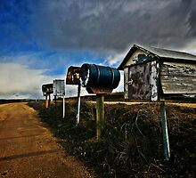 THE LETTER BOXES by DANNY HAYES