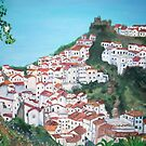 The village of Casares, Malaga by Teresa Dominici