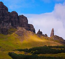 The Old Man of Storr  by Douglas  Latham