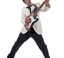 Deak Rivers as Buddy Holly by NKSharp