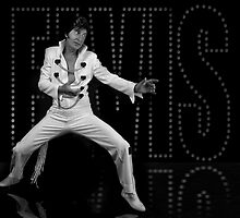 Deak Rivers as Elvis Presley by NKSharp