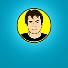 Captain Hammer iPhone Case by Tom Trager
