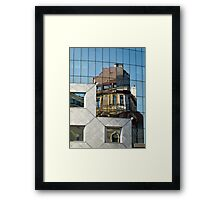 Reflections in Vienna Framed Print