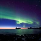 Aurora Borealis over Haja island -II by Frank Olsen