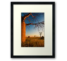 Where Time Expands Framed Print