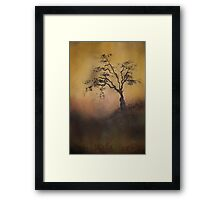 Wait by the tree for me Framed Print