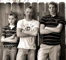 Tough Boys by lorib
