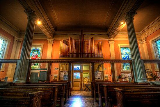 St. Mary's Catholic Church - Pipes by Yhun Suarez