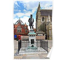 James Boswell Statue, Lichfield  Poster