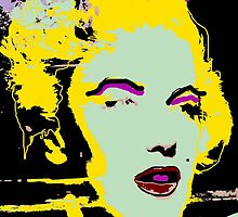 Marilyn Monroe, OOOH, TAX ME! by Stephen Peace