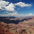 Clouds Over the Grand Canyon by TerraKolb
