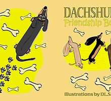 Dachshund Friendship Book (cover) by Diana-Lee Saville