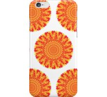 Firery Flowers iPhone Case/Skin