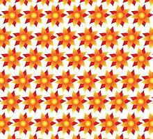 Firery Pinwheels Pattern by Wealie
