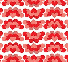 Heart Fan Pattern by Wealie