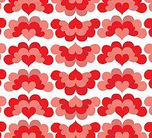 Heart Fan Pattern by Wealie