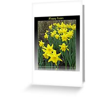 Easter Daffodils - Greeting Card Greeting Card