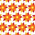 Firery Pinwheels Pattern by Wealie
