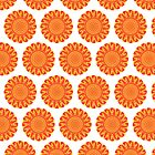 Firery Flowers Pattern by Wealie