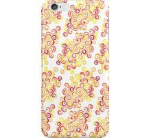 Firery Curlicules iPhone Case/Skin