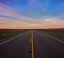 Wide Open Road by Rick Louie