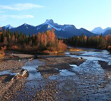 Autumn in the Rockies II by zumi
