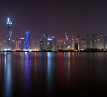 New Dubai Panorama by Sebastian Opitz