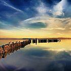 S.S. Gull Pier by Jack Daniel Ciallella
