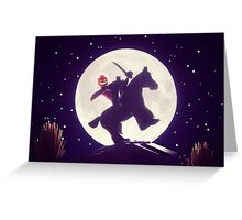 The Legend of Sleepy Hollow Greeting Card